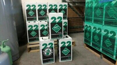 New R-22 Virgin Refrigerant FACTORY SEALED 10 LBS. FREE SAME DAY Shipping!