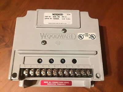 Woodward EPG speed control P#8290-186. Rev.E ...Free Priority 100% Guarantee