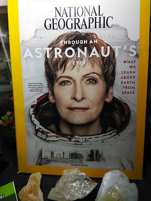 National Geographic Magazine March 2018 Through An Astronauts Eyes