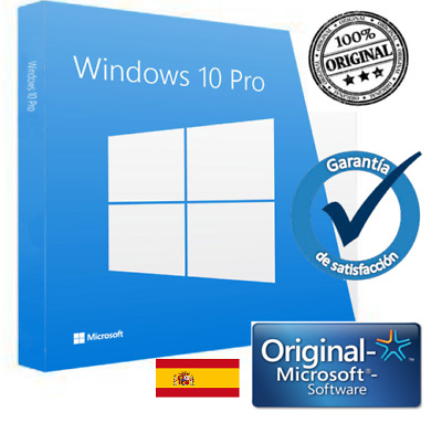 Windows 10 Pro 32/64 multi lenguaje Clave de licencia Original entrega en 3 seg