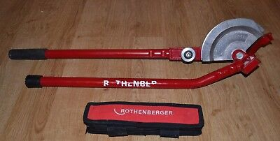 ROTHENBERGER PLUMBERS HAND PIPE BENDER - 15mm and 22mm