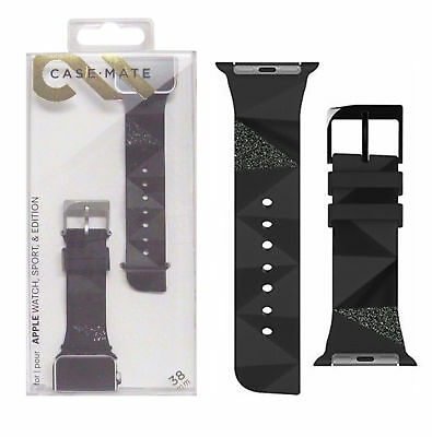 NEW Case-Mate For Apple Smart Watch  38mm Replacement Glitter Strap Wrist Band