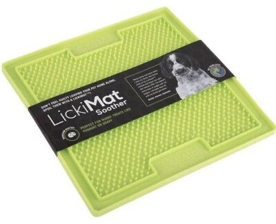 Lickimat 'soother' - Boredom Busting Canine Enrichment - Dog Lick Mat Licky