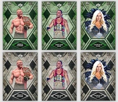 Topps WWE Slam Digital Card Trader - 2 Complete Excellence 2017 Sets + 6 Awards