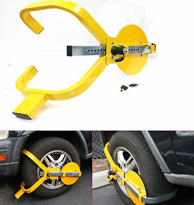 Wheel Lock Clamp Boot Tire Claw Trailer Auto Car Truck Anti-Theft Towing Boot