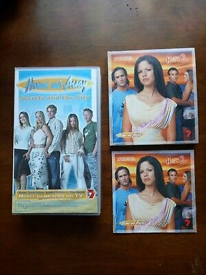 Home And Away Vhs Secrets And The City And Limited Edition Autograph  Pack Cd