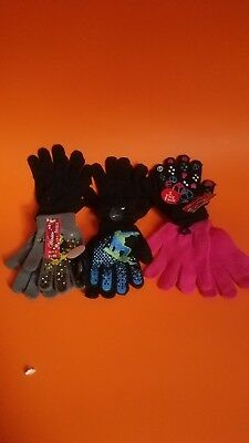 Kids winter hat and gloves