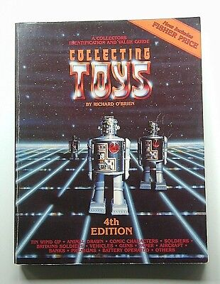 """All Brands Illustrated 1985 """"collecting Toys"""" Adult, 4Th Edition, Softcover,"""