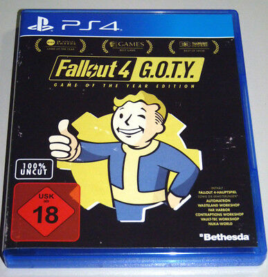 FALLOUT 4: GAME OF THE YEAR EDITION (PlayStation 4) PS4 DEUTSCH GOTY