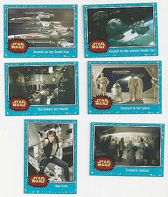 12 Star Wars Cards  Topps    2015   Ex-Mint