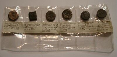 6 piece Mix coins of India INTERSTING GROUP