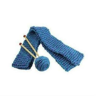 Quick-to-Knit Scarf Kit, Beginner, Learn To Knit, Children's Crafts
