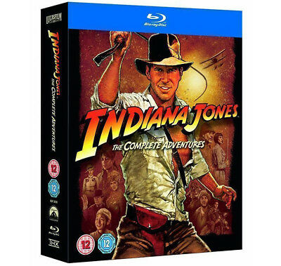 Indiana Jones The Complete Adventure Collection 5-Disc Blu-Ray Set