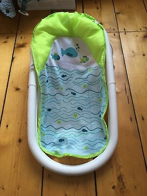 Summer Infant FOLD'N'STORE BABY SLING Bath Support Green/Blue BN