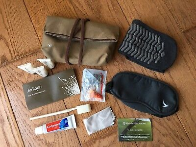CATHAY PACIFIC Seventy Eight Percent Amenity Kit w/ JURLIQUE products, BRAND NEW