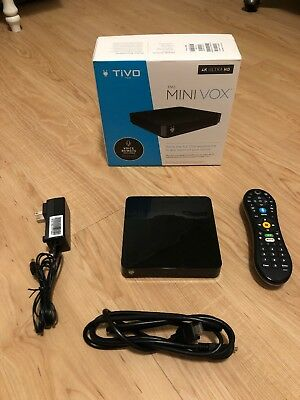 Tivi Mini VOX with Lifetime Service 4K HD with Voice Control Remote