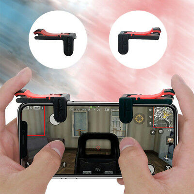 2*PUBG Controller Gamepad Gaming Trigger Cell Phone Game for Android IOS System