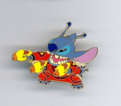Disney Disneyland Alien Stitch Multi Arms Laser Ray Guns Pin from 2002