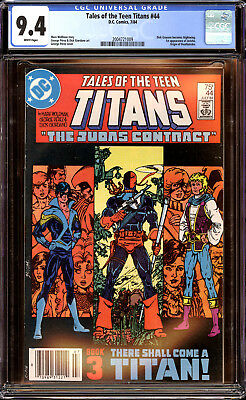 Teen Titans 44 CGC 9.4 NM 1st Nightwing and Jericho