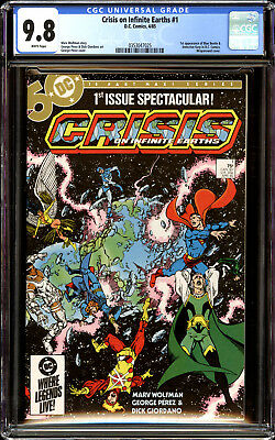 Crisis on Infinite Earths 1 CGC 9.8 NM/MT