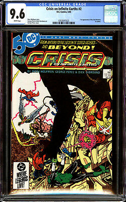 Crisis on Infinite Earths 2 CGC 9.6 NM+