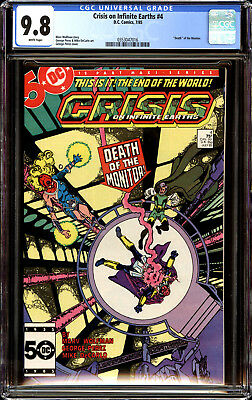 Crisis on Infinite Earths 4 CGC 9.8 NM/MT