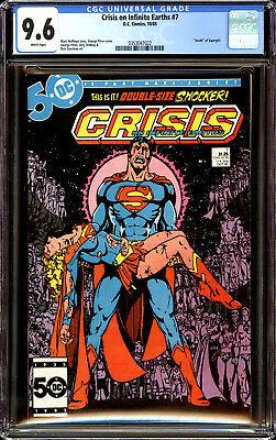 Crisis on Infinite Earths 7 CGC 9.6 NM+ Death of Supergirl