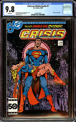 Crisis on Infinite Earths 7 CGC 9.8 NM/MT Death of Supergirl