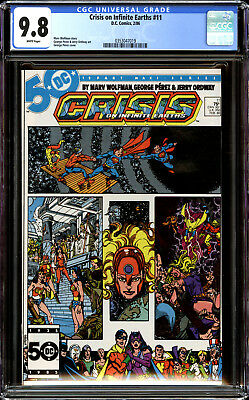 Crisis on Infinite Earths 11 CGC 9.8 NM/MT