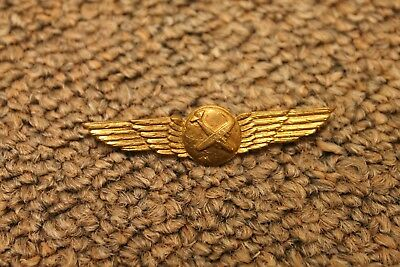 Glider Pilot Wings Gold Tone Ww2 Vintage Original