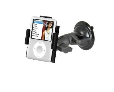 Short Arm Suction Cup Windshield Mount fits Apple iPod Nano 3G 3rd Generation