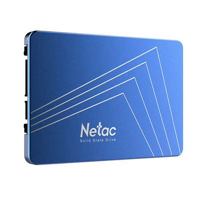 Netac 480GB SATA3 2.5inch SSD 3D Nand Solid State Drive Shock-proof for PC J9U6