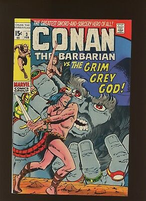 Conan the Barbarian 3 VF 7.5 * 1 Book Lot * Barry Windsor-Smith! 3rd Conan App!
