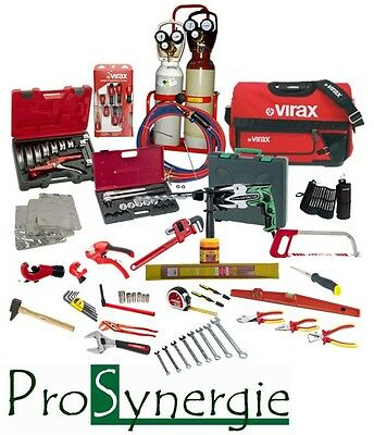 Kit Outillage Plomberie Outils- Caisse - Poste A Souder