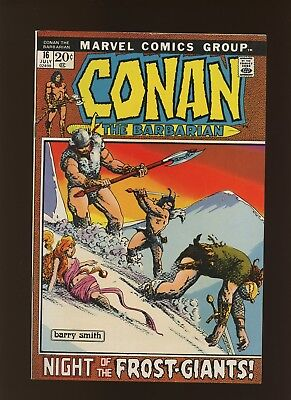 Conan the Barbarian 16 VF 8.0 * 1 Book Lot * 2 Stories by Thomas & Windsor-Smith