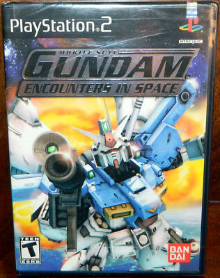 Mobile Suit Gundam: Encounters in Space New & Sealed - Sony PlayStation 2 PS2