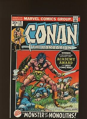 Conan the Barbarian 21 VF+ 8.5 * 1 Book * Barry Windsor-Smith! P. Craig Russell!