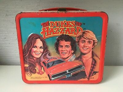 Dukes of Hazzard Lunch Box 1980 Vintage Great Price!