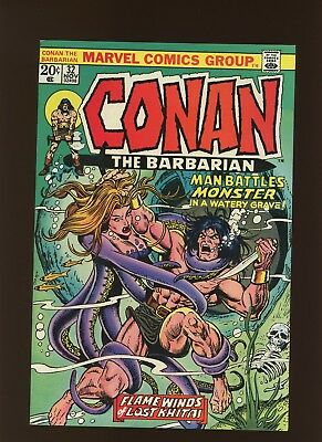 Conan the Barbarian 32 VF 7.5 * 1 Book Lot * Roy Thomas & John Buscema!