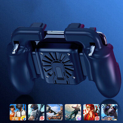 Wireless Joystick Mobile Phone PUBG Game Cooling Fan Gamepad For iPhone Samsung