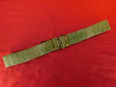 British P-37 Belt,  Blancoed