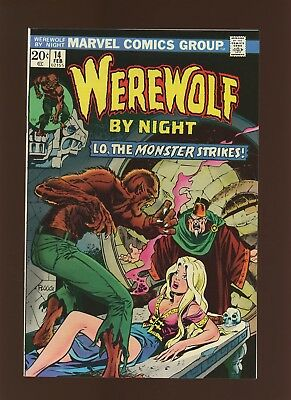 Werewolf By Night 14 VF+ 8.5 *1 Book* Lo the Monster Strikes by Wolfman & Ploog!