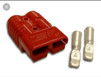 Anderson  Plugs  Red Genuine 50 Amp X 4