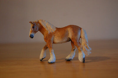 Breyer Collecta Micro Mini Palomino Belgian chestnut draft by Holly Lenz custom