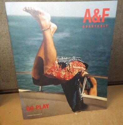 A&F CATALOG ABERCROMBIE & FITCH QUARTERLY Bruce Weber SUMMER 2000