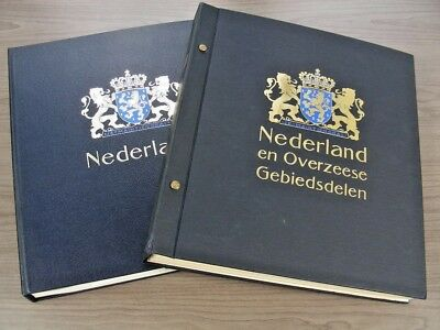 NETHERLANDS, Excellent Stamp Collection mounted in a 2 Volume DAVO album
