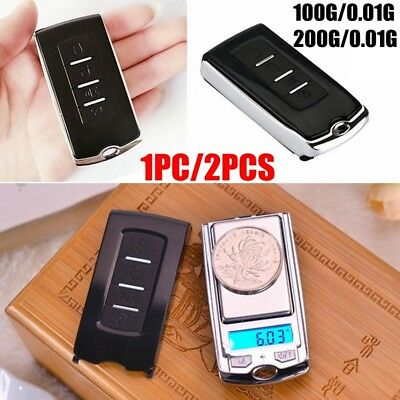 0.01g-100/200g Car Key Portable Digital Pocket Scale Mini Jewelry Weighing Sweet
