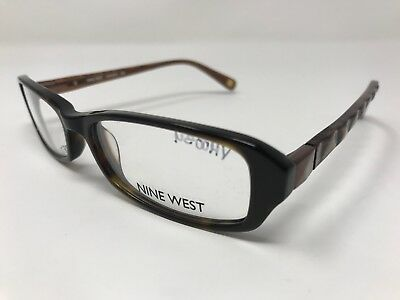 ed21971bbb8 Nine West Eyeglass Frames NW5034-206 Dark Brown Tortoise 51-16-135mm WOMENS