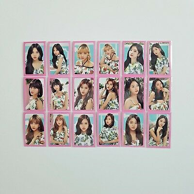 Twice Twiceland Fantasy Park Official Photocard Set - A