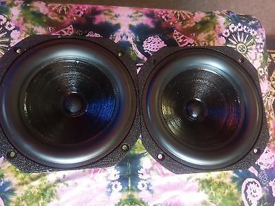 Pair FOCAL Doped Paper Dual Voice Coil Cast Frame 7 inch Mid/ Bass Speaker RA79
